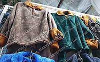 Пижама женская теплая, махровая с длинным рукавом р. 42-64