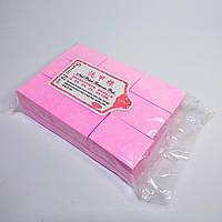 Безворсові серветки для зняття липкості 600шт рожеві