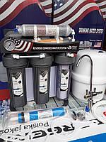 Осмос (Польша) 7 ступ с Filmtec мембраной, биоактиватором и минерализатором AR03МF на станине, фото 1