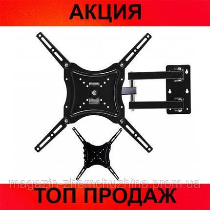 "Кронштейн для TV 117B-2 диагональю 14-55"" с поворотом!Хит цена, фото 2"