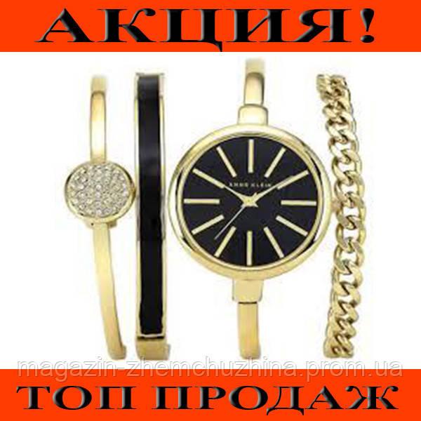Часы в подарочной упаковке ANNE KLEIN Gold black!Хит цена