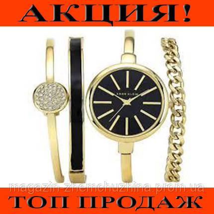 Часы в подарочной упаковке ANNE KLEIN Gold black!Хит цена, фото 2