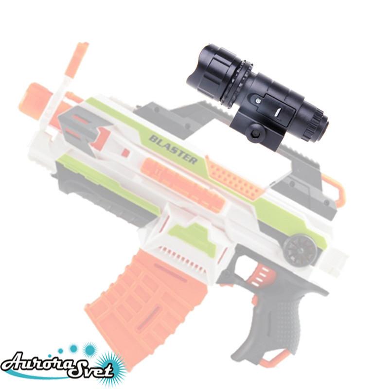Тактичний ліхтарик з відображувачем