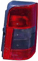 Фонарь задний правый Citroen Berlingo, Peugeot Partner 97-07 (2 дв.) (Depo) дымчатая вставка 6351H2