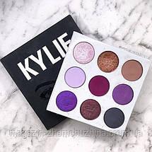 Палитра теней с зеркалом Kylie (The Purple Palette) 9 цветов!Хит цена, фото 3