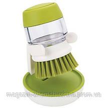 Щетка для мытья с диспенсером Soap Brush!Хит цена, фото 3