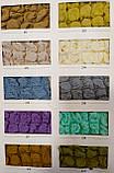 Универсальные чехлы на стулья натяжные Venera комплект 6 шт. с юбкой оборкой, фото 5