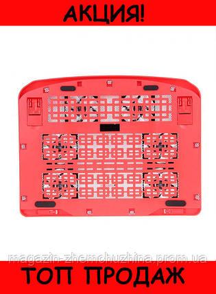 Охлаждающая подставка для ноутбука N138 F6!Хит цена, фото 2
