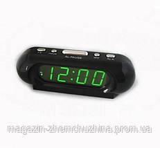 Электронные сетевые часы VST 716-2!Хит цена, фото 3