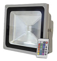 Светодиодный прожектор LEDEX 30W RGB, 120º, IP65, (RGB715)