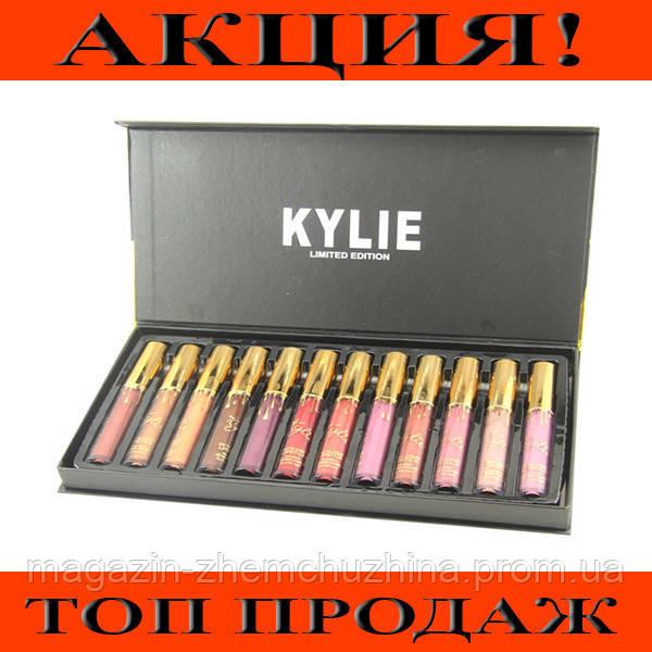Набор матовых помад Kylie (12 шт)!Хит цена