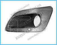 Решетка бампера ЗАЗ Forza 11- под ПТФ, правая (FPS)