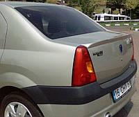 Спойлер анатомичный Dacia Logan / Дача Логан