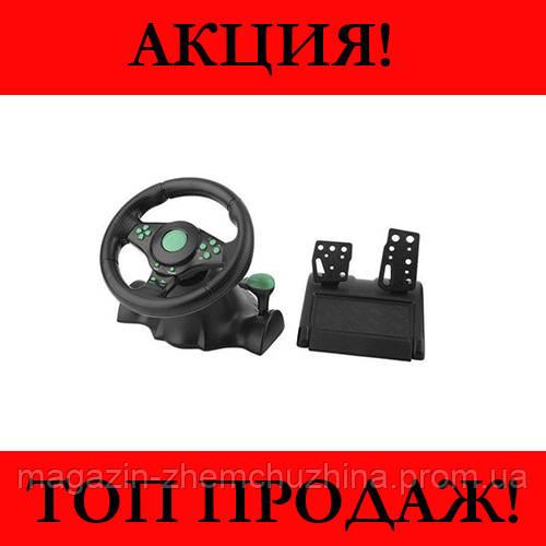 Игровой руль Vibration Wheel PS3 PC USB!Хит цена