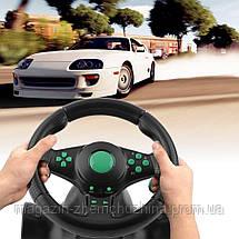 Игровой руль Vibration Wheel PS3 PC USB!Хит цена, фото 2