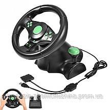 Игровой руль Vibration Wheel PS3 PC USB!Хит цена, фото 3