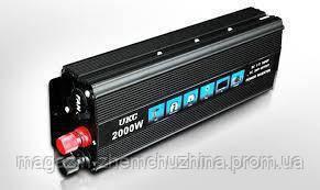 Инвентор напряжения 2000w UKC SSK (преобразователь)!Хит цена, фото 2