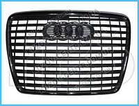 Решетка радиатора Audi A6 С6 (08-10) хром Молдинг (FPS) 4F0853651AN