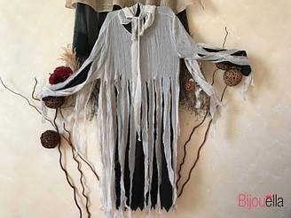 Страшный костюм привиденье накидка с капишоном на вечеринку, маскарад на хэллоуин размер ХL