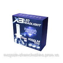 Лампа LED X3-H4!Хит цена, фото 3