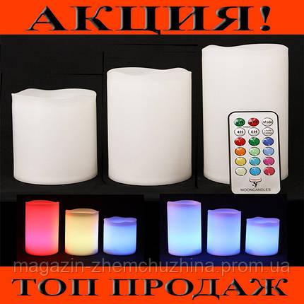 Светодиодные LED свечи Luma Candles 3в1 с дистанционным управлением!Хит цена, фото 2