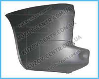 Правый задний угольник бампера Фиат Добло 05-09 , FIAT DOBLO (2005-2009)