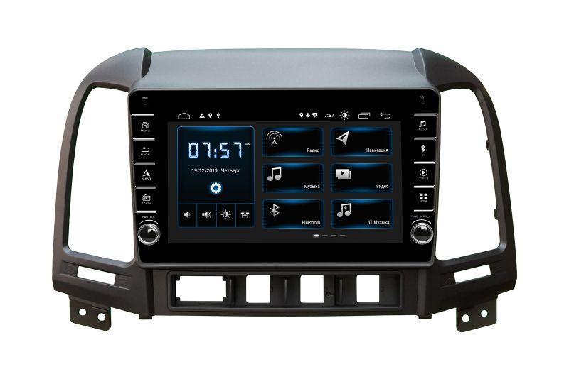 Штатная магнитола Incar XTA-2408R для Hyundai Santa Fe 2006-2011