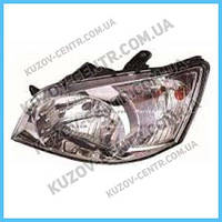 Фара Hyundai Getz (02-05) левая, электрическая (DEPO) 921011C000