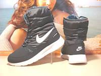 Женские спортивные ботинки Nike roshe (реплика) серые 40 р.