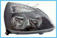Фара правая механическая регулеровка черная Renault Clio II 01-05