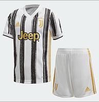 Футбольная форма Ювентус (FC Juventus) 2020-2021 Домашняя, фото 1