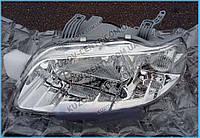 Фара левая Chevrolet Aveo T200 (04-10/05) механич./электрич. (Depo) 96453539