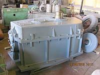 Редуктор цилиндро-коническо-цилиндрический трехступенчатый горизонтальный ЦКЦ-200