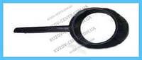 Накладка решетки в бампере Chevrolet Aveo 06-11 левая, черная (FPS) 96648783