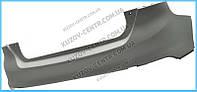 Задний бампер Форд Фокус 11-  хечбек, верхняя часть, без отв  Парктроников , FORD FOCUS III (2011-)