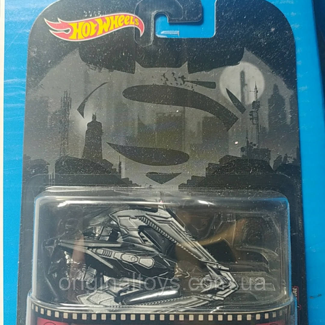 Коллекционная машинка Hot Wheels Batman Batwing