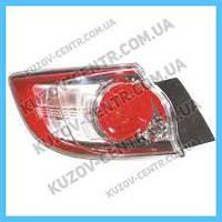 Фонарь задний Mazda 3 09-13 хетчбек правый (Depo) внешний, Led BCW951150C BCW951150C