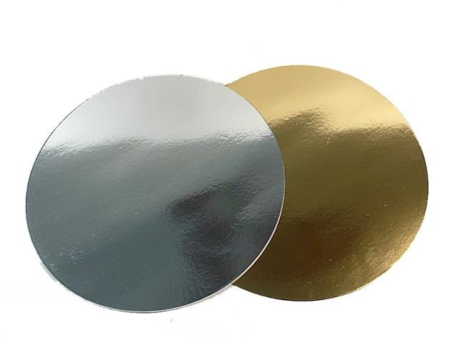 Подложка под торты круг Ø-80 мм   (100 шт)