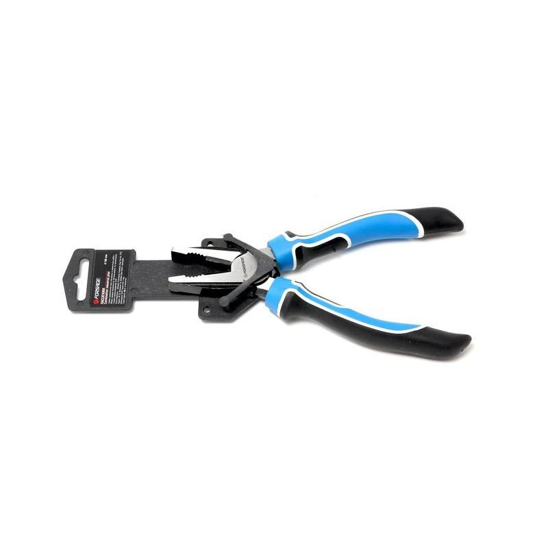 Плоскогубці комбіновані Profi з поворотною пружиною 160 мм, на пластиковому тримачі