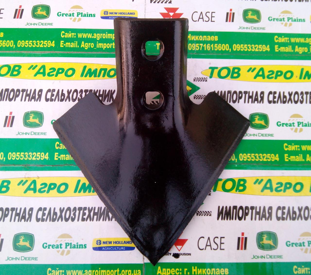 Лапа культиваторная  N130166бу 175мм