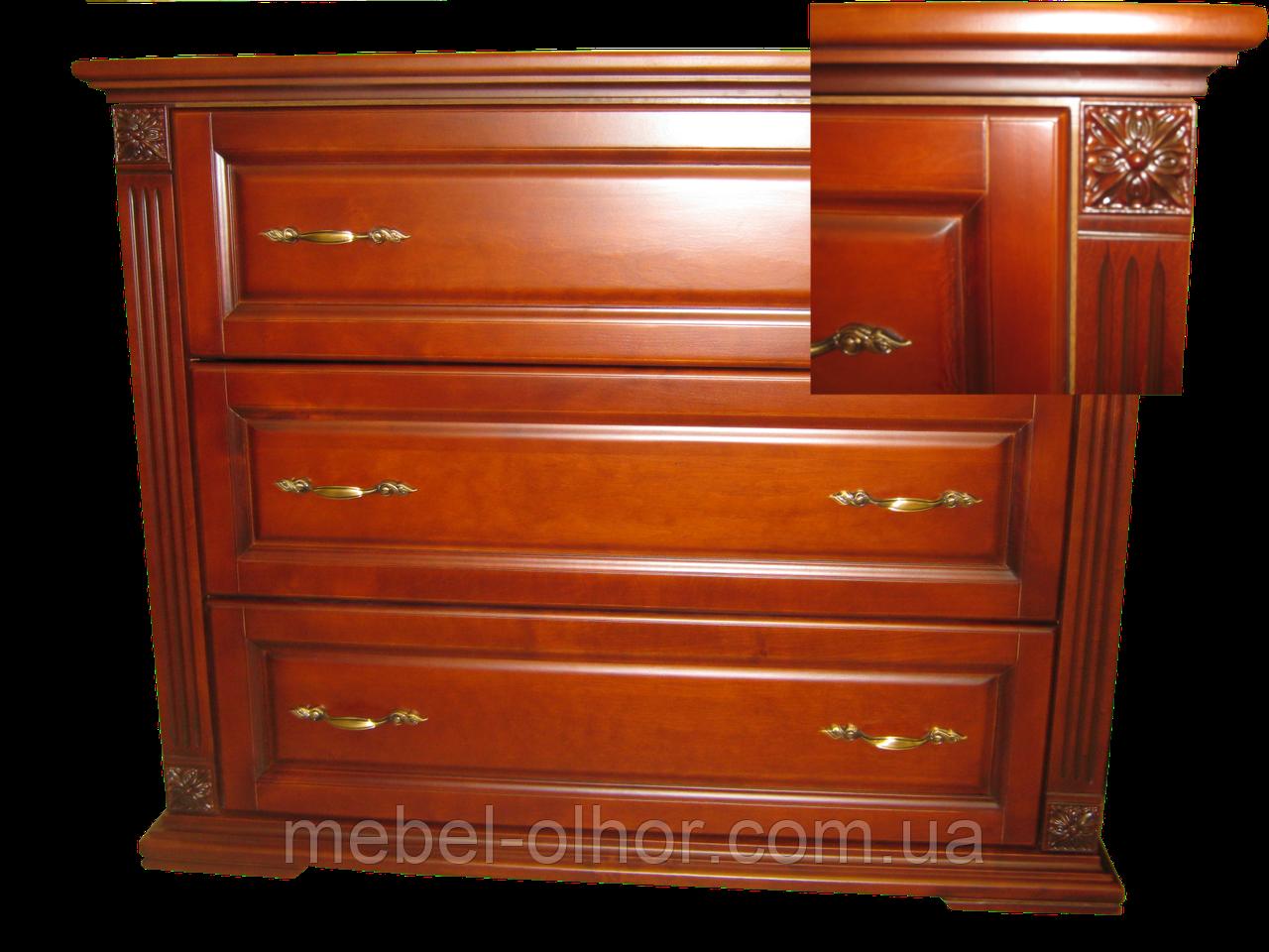 Комод деревянный Версаль-2 (90*100*45)
