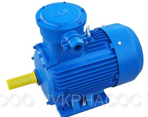 Электродвигатель взрывозащищенный АИМ80В6 1,1 кВт 1000 об/мин