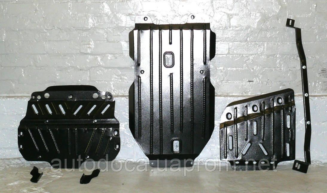 Установка защит картера двигателя, кпп, ркпп, радиатора, дифференциала в Киеве.