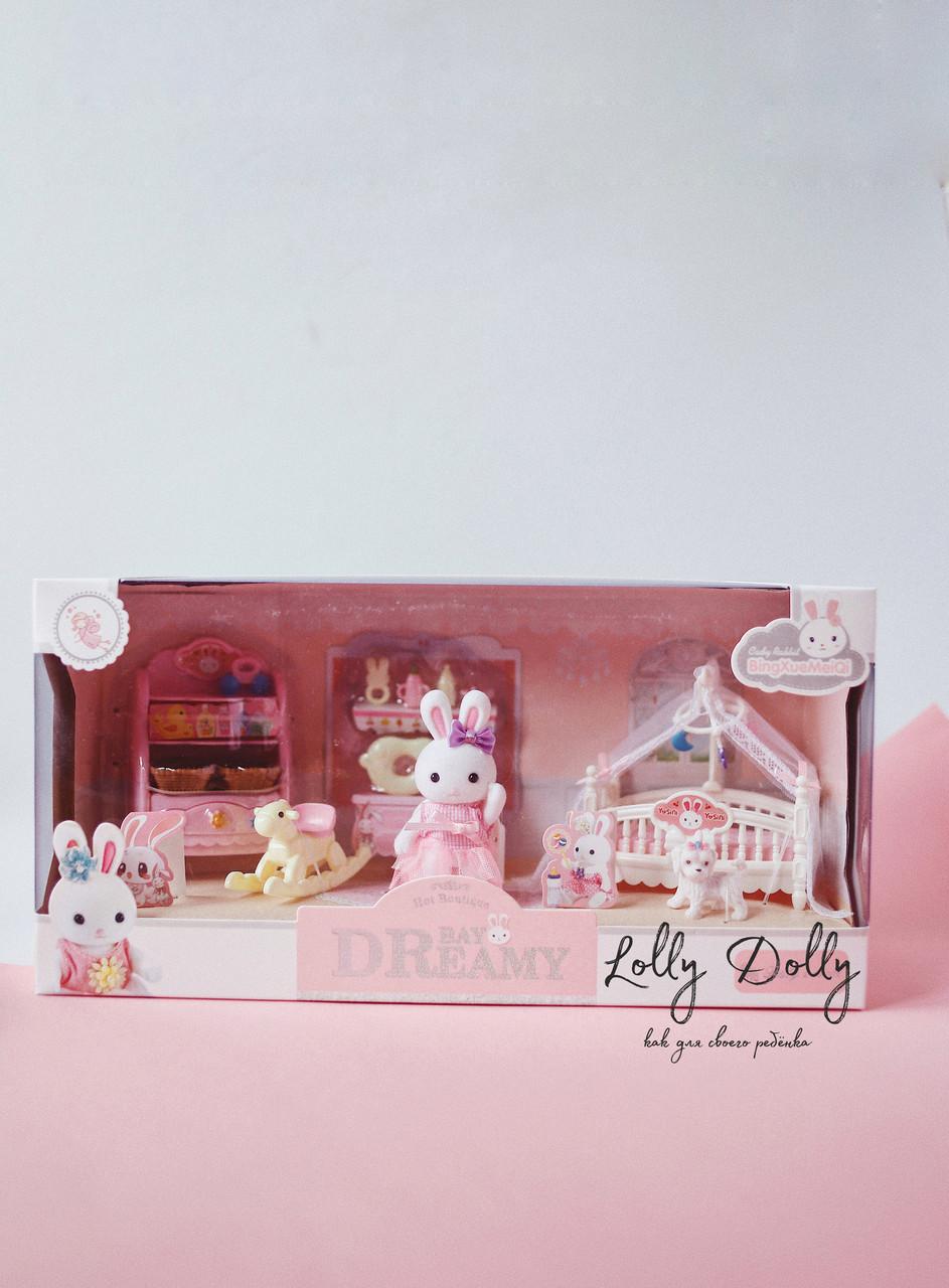 Лялькова меблі з зайчиками, Дитяча