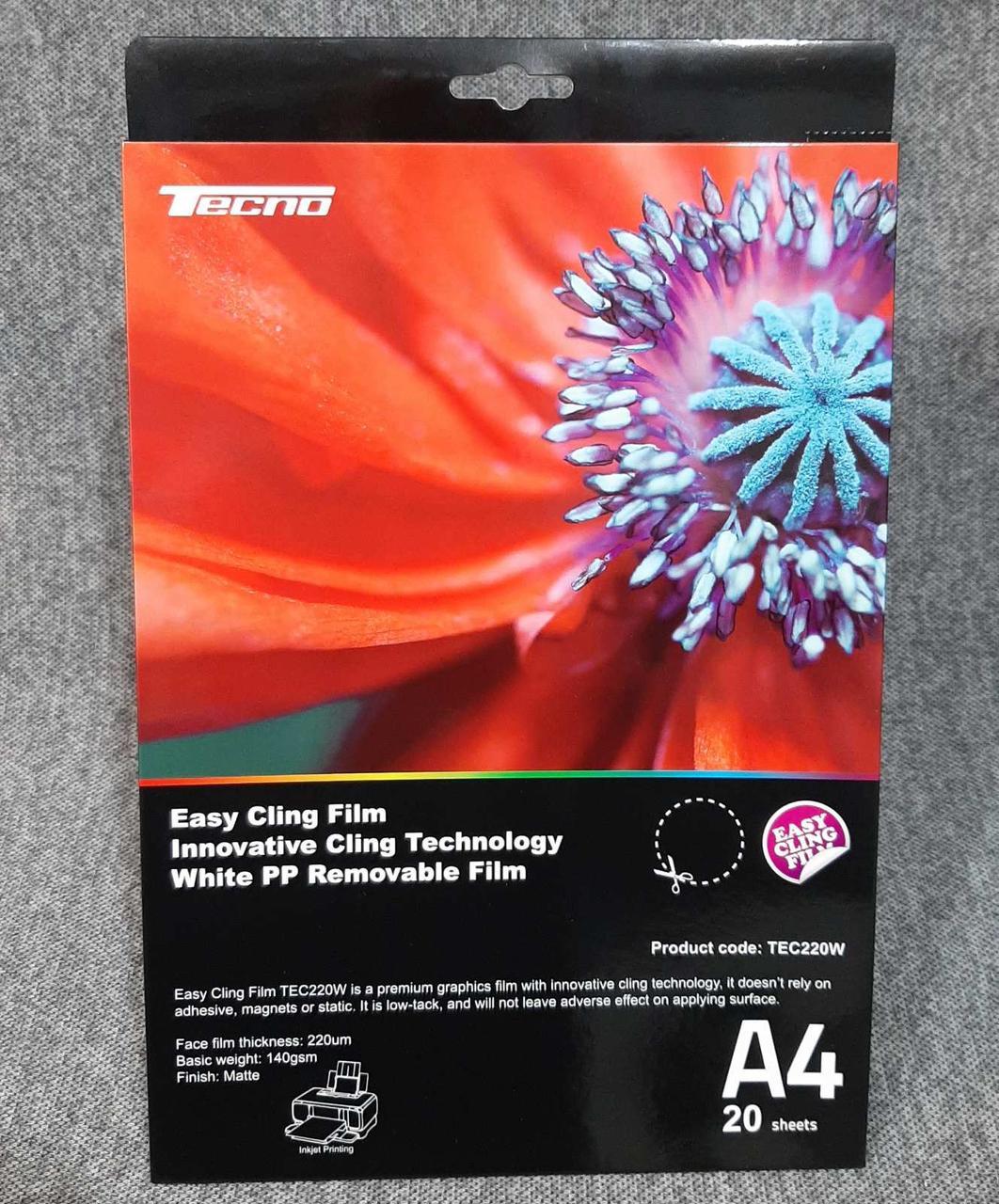 Пленка для печати tecno A4 Easy Cling Film
