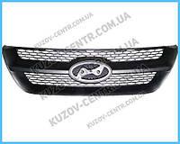 Решетка радиатора Hyundai Sonata 05-07 черная (FPS) 863503K000