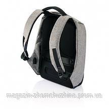 """Городской рюкзак антивор Bobby bag  Bobby bag 15"""", черный, серый!Хит цена, фото 2"""