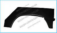 Ремонтная часть заднего крыла Peugeot Partner 97-08, арка, цинк, правая (KLOKKERHOLM) Klokkerholm FP 0550 592