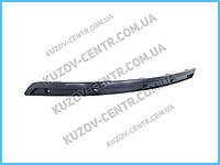 Накладка бампера Hyundai Sonata 08-10 с отв. под хром. молдинг - правая (FPS) 865863K710