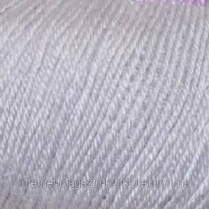 Пряжа Alize Baby wool Серый